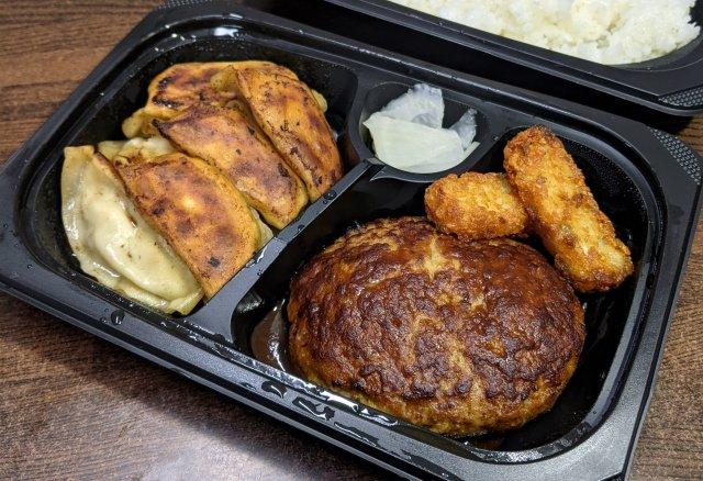 【三神合体】ガスト・バーミヤン・から好しのメニューを注文できる「ガストデリバリー」誕生! 餃子とハンバーグを同時に食えるぞ~!!