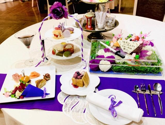 パセラリゾーツの「推し色アフタヌーンティー」が4500円でホールケーキまでついてお得すぎた → 美味しく推し色づくしに出来るよ!
