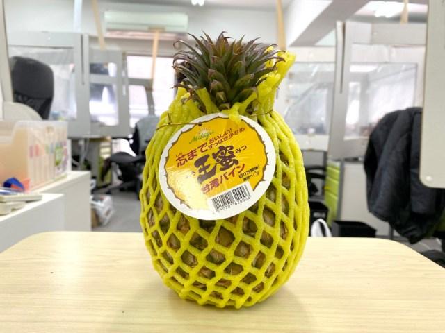 【好呷】ウワサの「台湾パイナップル」を食べてみた