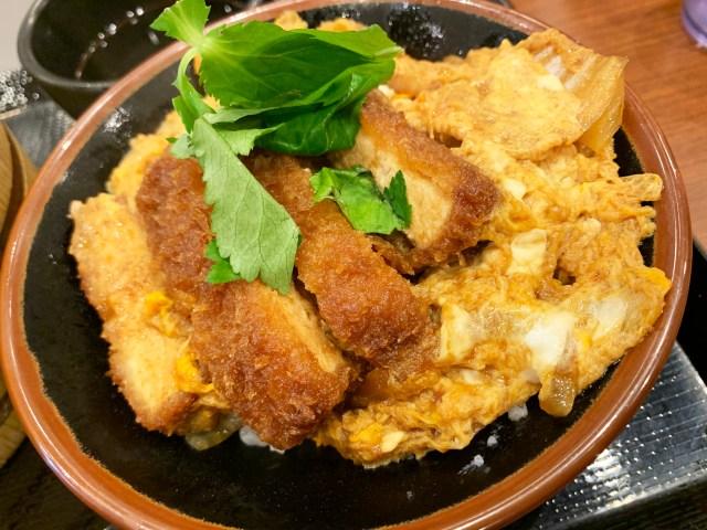 丸亀製麺の店舗限定メニュー「カツ丼」が激ウマ! 分厚いとんかつとトロける卵が至高すぎる!! 販売店舗はここだー!
