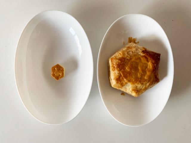 【検証】パイの実の17倍! ファミマ『パイの実みたいなデニッシュ』と本家パイの実を食べ比べてみた!!