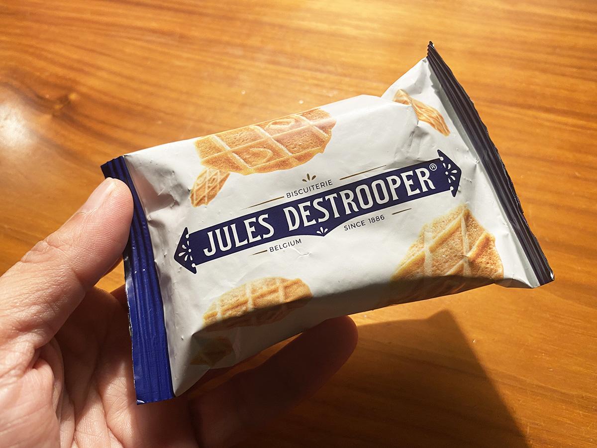 """【おかし旅行記】生まれて初めて """"ベルギー王室御用達"""" ビスケット『ジュールス・デストルーパー』を食べてみた"""