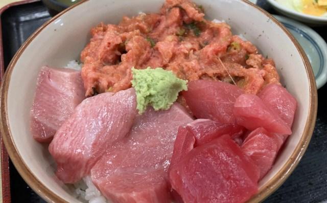 【早朝グルメ】タクシー運転手おすすめ『竹家食堂』の「二色丼」が最高に美味い! 横浜中央卸売市場の人気食堂に行ってきた