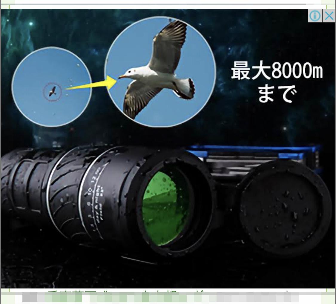 【実録】やや怪しい「高倍率な望遠鏡」のGoogle広告をポチったら、アジアの買い物でよくなる気持ちに…