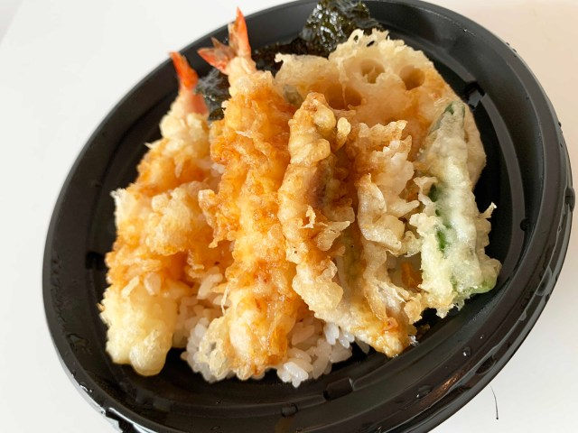 【299円天丼】和食さとのテイクアウト「天丼」が目を疑うほど安かったので食べてみた結果 → 衝撃……