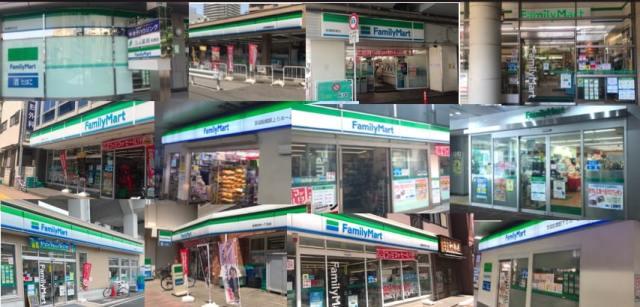 【乱立】JR船橋駅前の半径500m圏内で「ファミリーマート」が尋常じゃない密集具合! 全店舗を回ってみたらこうだった