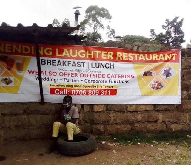 【セットで60円】ケニアのタクシー運転手に「アフターヌーンティーのオススメなお店を教えて」とお願いしたらこうなった / カンバ通信:第89回