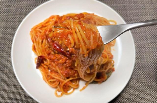 【カプリチョーザ】看板商品『トマトとニンニクのスパゲティ』の再現に挑戦するも、どこか違う! やはり店に食べに行くしかない…ってなった話