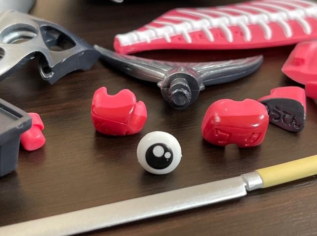 【なにこれ】バラバラになった赤身を組み立てるシュールな立体パズル! マグロよ、人類に寿司を与えてくれてありがとう