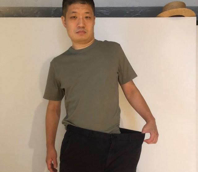 【奇跡の20kg減】たまに大食いしながら1年近くダイエットを続けてたら…とんでもないことになった