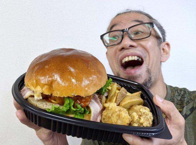 【巨大】ロピアの人気ナンバー1商品「モンスターバーガー」がデカすぎてヤバい! これで税別500円ってマジかよッ!!
