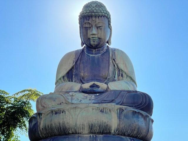【日本一小さい大仏?】千葉県鎌ヶ谷市にある「鎌ヶ谷大仏」のスケールが想像を遥かに下回りすぎてヤバかった
