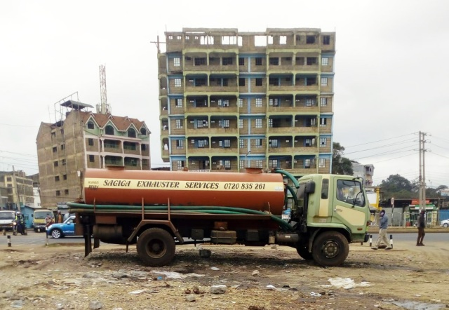 【ケニア】やけに詳細なナイロビの水道事情(給水車事情含む)/ カンバ通信:第101回