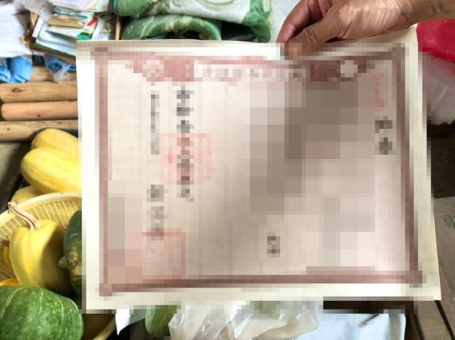 【発掘】限界集落にある祖父母の家を漁ったら約140年前の書類が出てきた / 教科書で見たヤツ!