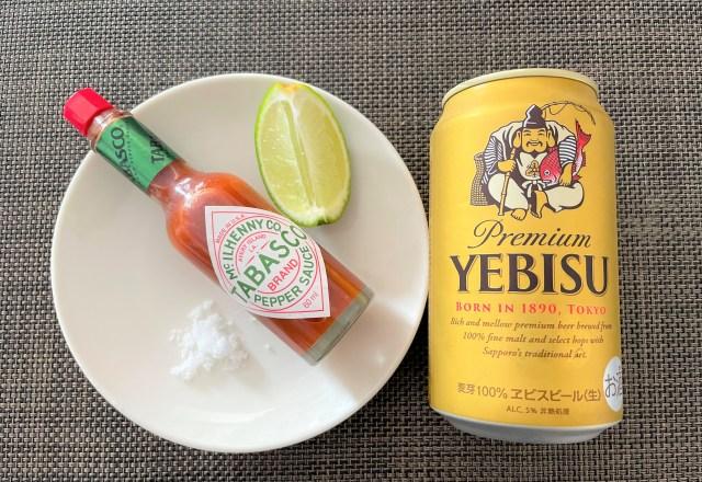 ビールにタバスコをちょい足し!ウマ過ぎてもう普通のビールには戻れない…!!『Tabasco』公式レシピ