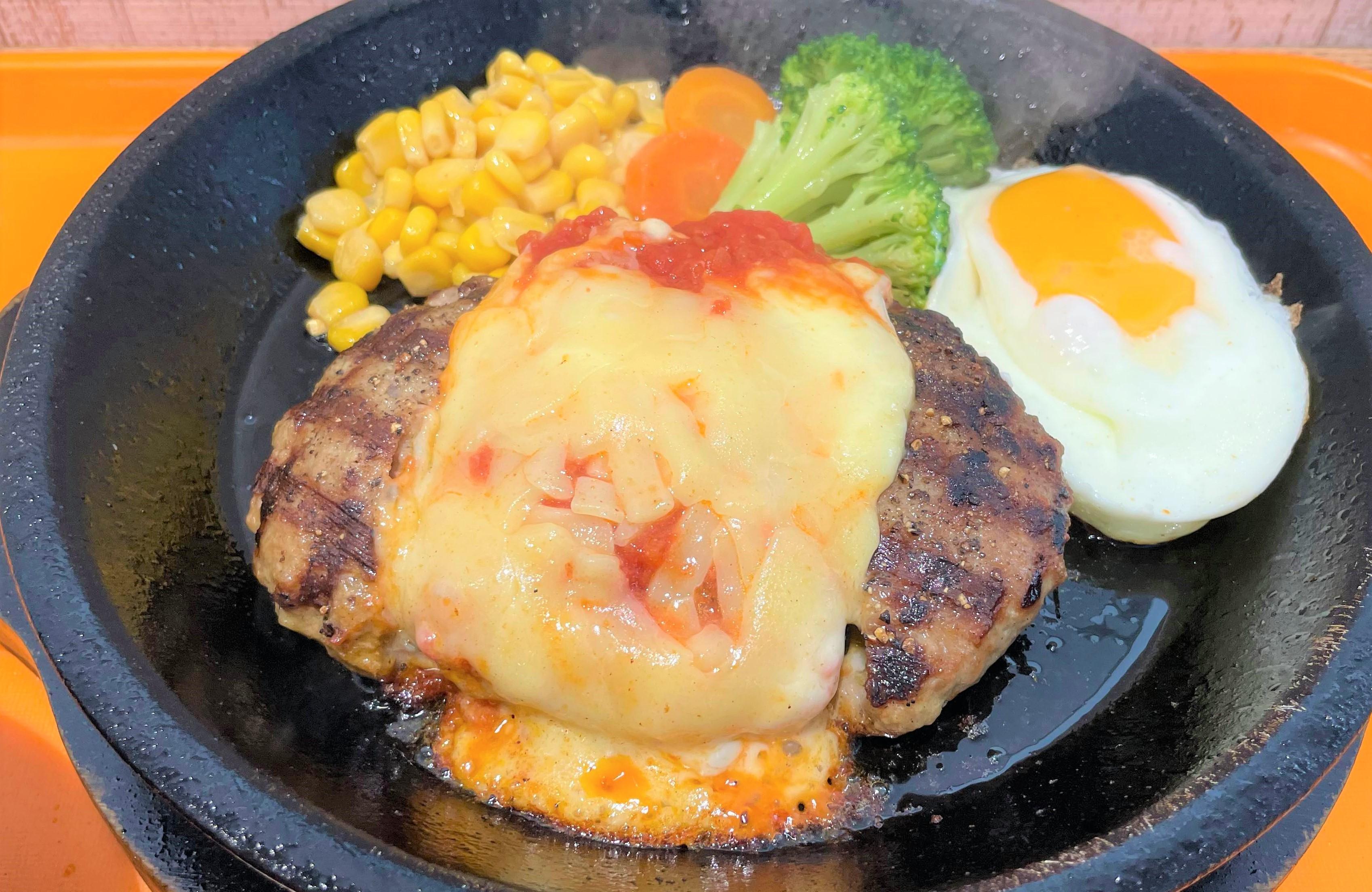 """いきなりステーキ『目玉焼き付チーズトマトハンバーグ』を食べる際に注意しなければならない """"3つ"""" のこと"""