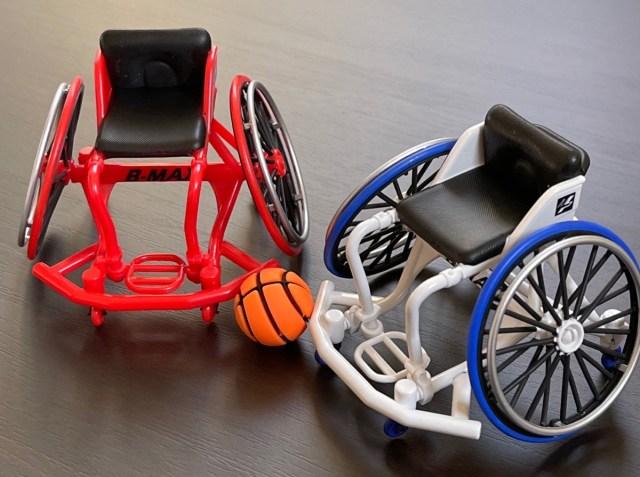 【カプセルトイ】車椅子バスケに大注目! 異色のミニチュア「スポーツ車椅子 B-MAX」にしびれる