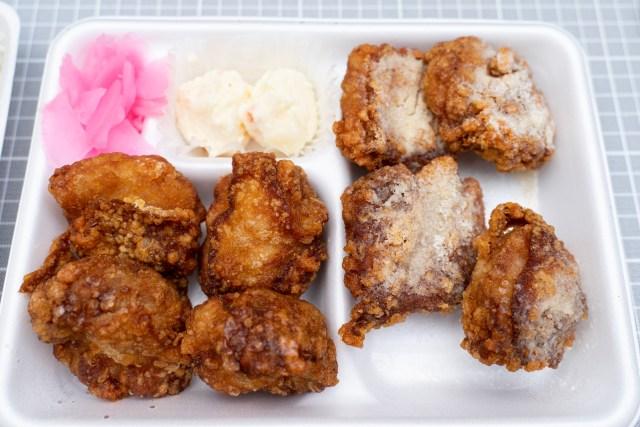 小僧寿しがまたしても約1㎏のから揚げ弁当を販売 → 食べてみたら「スノーチーズからあげ」が激ウマでヤバい!