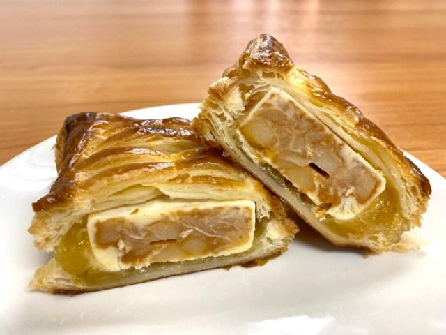 【優勝レシピ】アップルパイの中に井村屋の「アップルパイバー」入れて焼く → 罪深すぎるスイーツが完成した