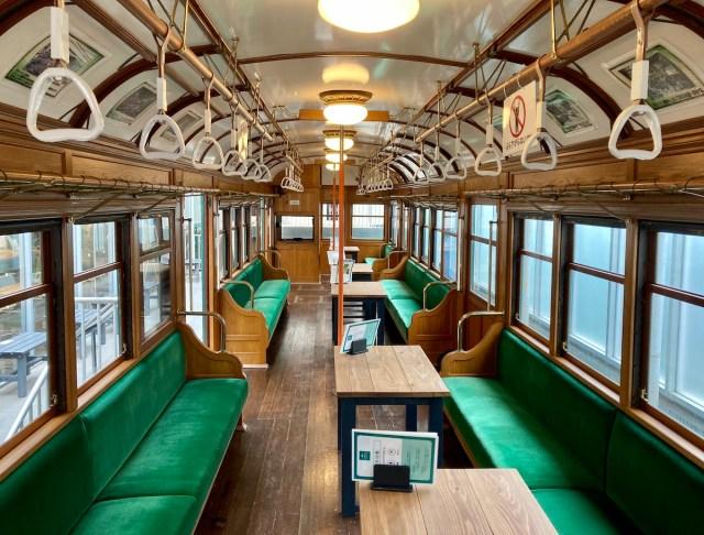 【60分200円】レトロな電車の客室でテレワークができるってマジかよ! 「電車とバスの博物館」が天国すぎた!