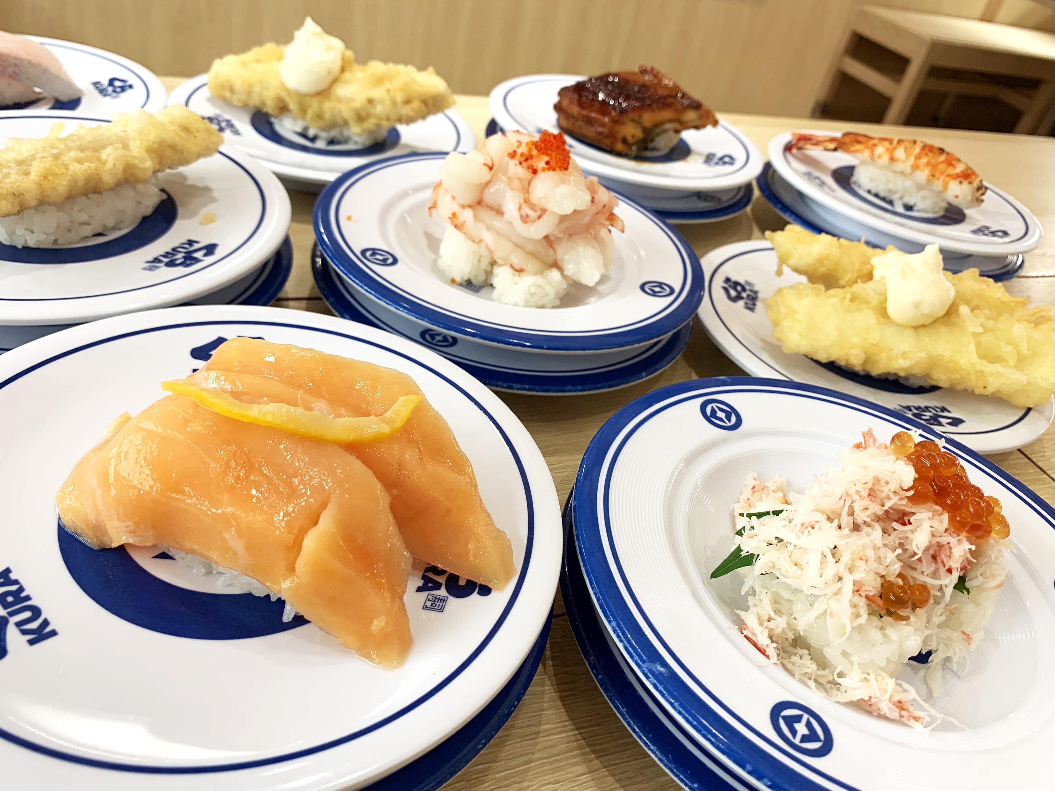 くら寿司『特大切り・特盛フェア』のデカネタを全部食べてみた! ガチでデカかった寿司、そうでもなかった寿司まとめ