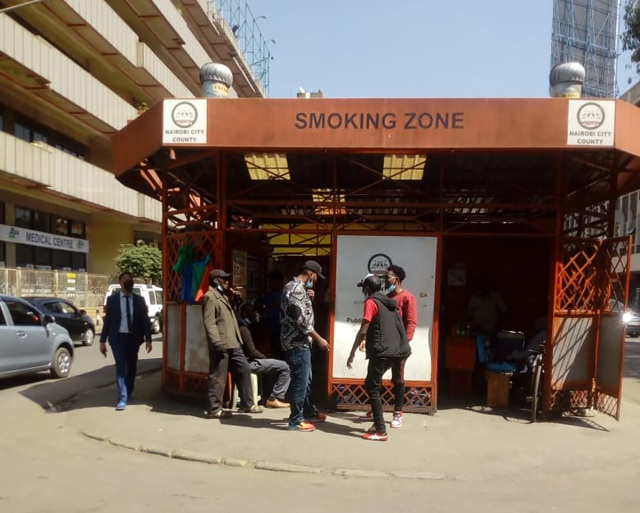【たばこ】ケニアの首都ナイロビの「喫煙所」に潜入! カンバ通信:第109回