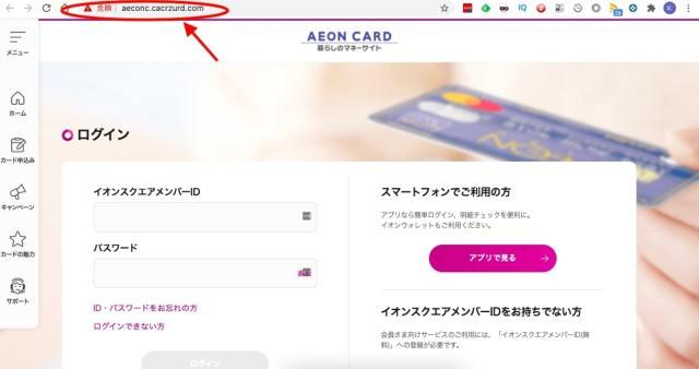 【警告】イオンカードユーザー必読!「イオンカード」を騙るフィッシング詐欺に潜入したらクオリティがヤバすぎた