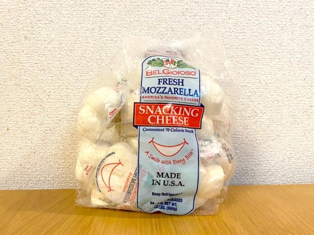 はじめてのコストコで「ミニモッツァレラチーズ」をオススメする理由