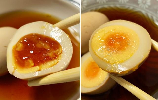 【比較】ローソン、ファミマ、セブンの「煮たまご」はどれが1番トロけているのか? 切って卵黄の状態を比べてみたら全然違った!